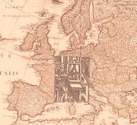Rielaborazione da Willem Janszoon Blaeu, Europa recens descripta, Amsterdam 1635