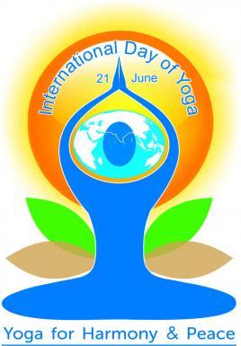 Logo International day of yoga