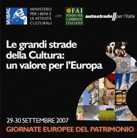 Giornate Europee del Patrimonio 2007