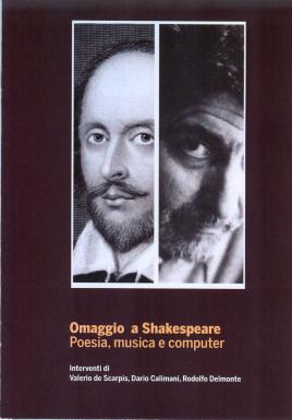 Copertina della pubblicazione: Omaggio a Shakespeare. Poesia, musica e computer