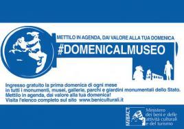 Logo Domenica al Museo