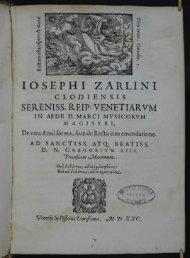 Frontespizio_Zarlino_De vera anni forma_1580