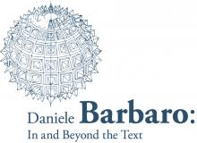 Logo Daniele Barbaro In and Beyond the Text
