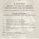 """Locandina 2tema Il ritorno dello studio del Greco nell'Europa del XV secolo: antiche e nuove prospettive per una ripresa degli studi classici"""""""